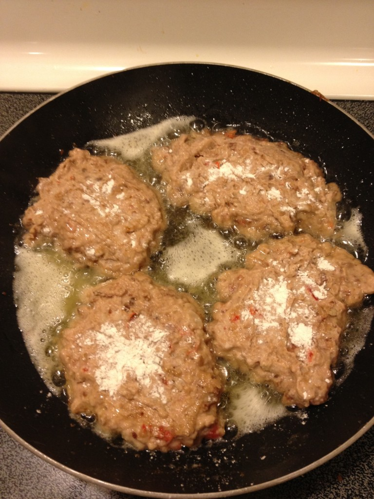 Black Eyed Pea Cakes - 2