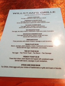 Restaurant Week 2013: WillStan's Grille